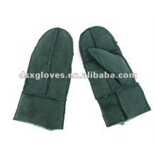 winter warm lambfur gloves