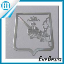 Customized Custom Metal Sticker with 3m Glue Backside