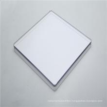 Sound barrier solid polycarbonate sheet