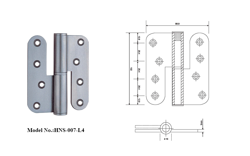 Lift Off Stainless Steel Door Hinges