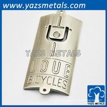 custom made iron cycling badge