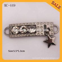 MC449 Anti-brass Fashion Metal pendants for clothing/handbags/bags