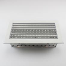 Ar condicionado Ventilação de alumínio à prova de intempéries Ventilação da parede externa Persiana de ar de entrada fresca à prova de chuva