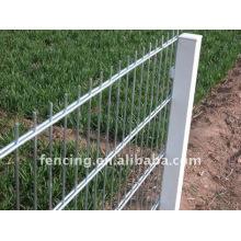 6/5 / 6mm fil de double barrière horizontale