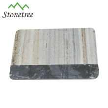 Nature white marble cheese board