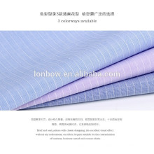 Promotional 100% cotton 50s Dobby shirting fabric for man