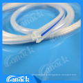 Animal Medical Silicone Round Channel / Fluted Drain