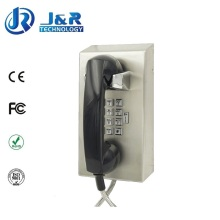 Rugged Prison Telephone, Parking Lots VoIP Phone, Jail Internet Phone