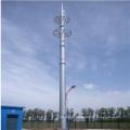 30m Single Pole Tubular Steel Tower