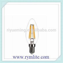 E12 C35 E14 LED candle Filament light 2W 4W 6W with CE RoHS