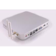 Computador pequeno sem ventilador de Mini PC Openelec Kodi Linux HDMI VGA