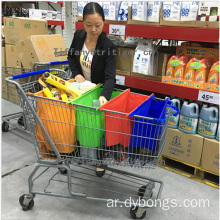 reusable easy carry wholesale supermarket shopping cart bag