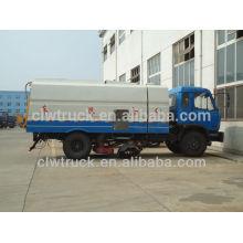 Buen rendimiento Dongfeng 153 vehículo barredora, vehículo de barrido de carretera