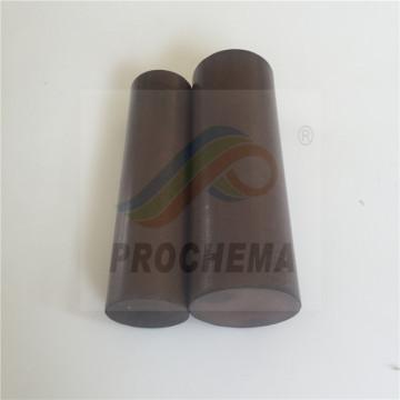 Varilla de grafito conductor de resistencia térmica de PTFE