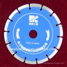 fast cut sintered diamond v grooved saw blade