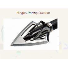 6-Blade en acier inoxydable 100gr tête large pour la chasse