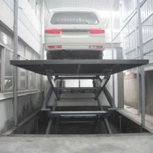 Plataforma elevadora de tijera hidráulica para sótano con ce