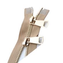 Wholesale zipper #3 closed-end metal zipper for handbag
