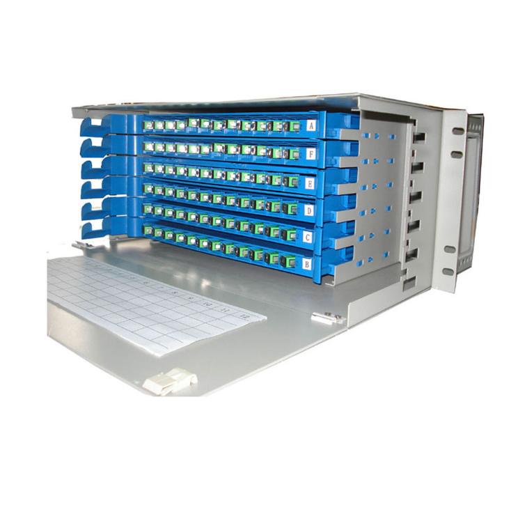 24 Port Fiber Optical Distribution Frame Odf