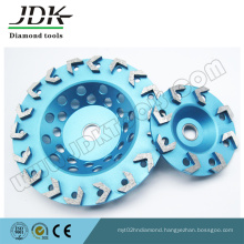 Small Arrow Segment Diamond Grinding Cup Wheel for Concrete