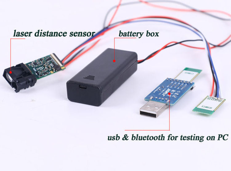 Bluetooth Distance Meter Sensor 10m Short