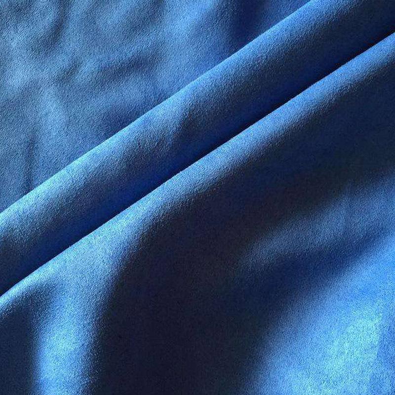 Elegent blue microfiber