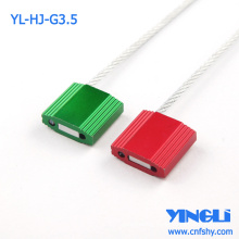 High Security Adjustable Disposable Truck Metal Padlock Cable Seal for Container or Tank