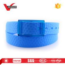 Plastic buckle Mens golf belts
