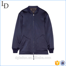 Plain Stain Varsity Jacket Wholesale Mujeres personalizadas Bomber Jackets