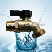 Lead free Hose Bibb-Quarter Turn Valve (Brass construction,Solder cup or MIP to hose connections) QT56X050
