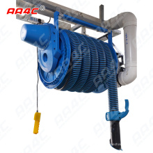 AA4C car exhaust extracting system auto vehicle exhaust hose tumbler with fans system  control customize size