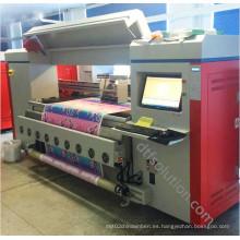 Impresora de banda para impresión directa de tinta reactiva
