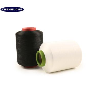 2075/3075/4075 gesponnenes, dotiertes gefärbtes elastisches Polyestergarn zum Nähen