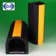 Corner protector for parking and warehouse. Manufactured by Ohji Rubber & Chemicals Co., Ltd. Made in Japan (Corner Guard)
