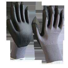 Polyester Nylon Industrial Work Skid proof Coated Nitrile Foam Gloves Duantes De Nitrilo