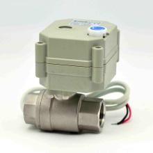 Schnellverschluss Elektrische Steuerung NSF Kugelhahn Stellantrieb Auto RoHS Wasserventil mit Ce (T15-S2-B)