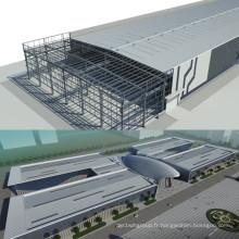 Structure des bâtiments en acier industriels Peb