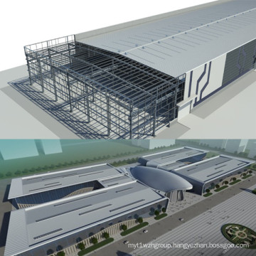 High Quality Steel Structure Buildings for Substation/Other Construction