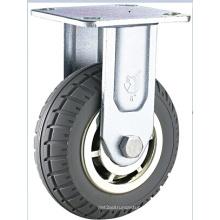 Roulette pivotante pivotante à haute performance en caoutchouc PU à haute qualité