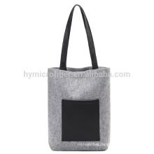 Simple fashion felt shopping bag
