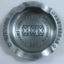 Souvenir de cendrier rond à main en métal Amsterdam Amsterdam (B5009)