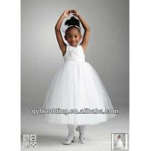 2013 novo estilo qualidade laço flor menina vestidos Índia atacado2012168528