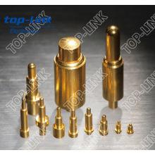 Primavera Carregado Pogo Single Pin Connector (fábrica chinesa)