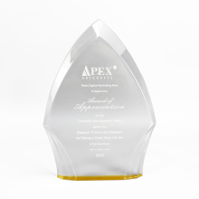 APEX Encouragement Gift Acrílico Award Plate Manufacturing