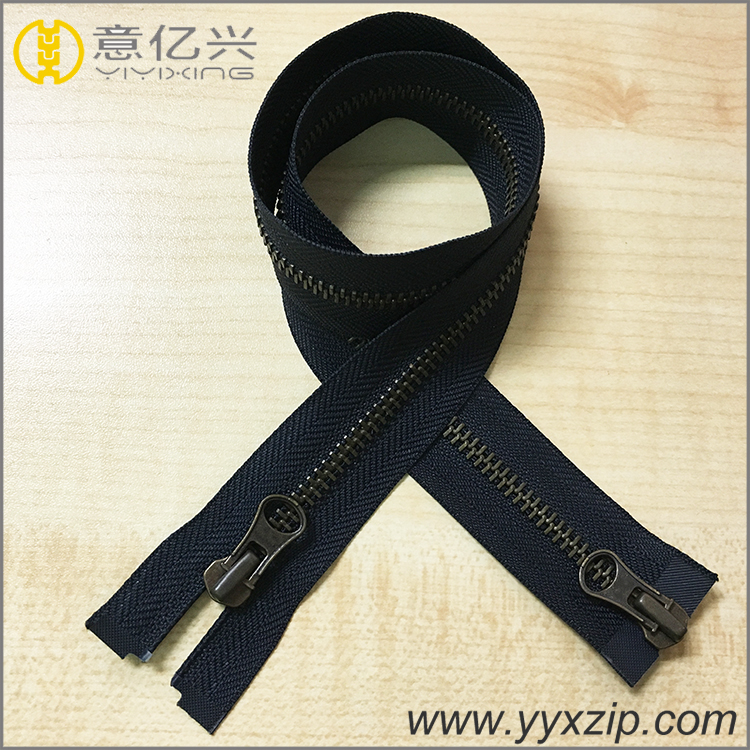 Two Sided Zipper