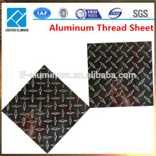 2015 Factory Price Aluminum Checkered Plate and Sheet Weight