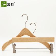 o cabide de madeira da camisola das senhoras ajusta o fornecedor