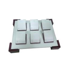 Nouveau 6 plaques en MDF en caoutchouc / pendentif en verre (TY-6P-WL1)