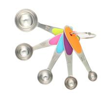 Juego de cucharas medidoras de café de acero inoxidable 5 piezas