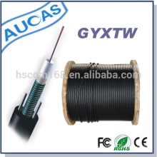 high speed burial single mode fiber optic cable GYXTW 12 Cores for computer networking
